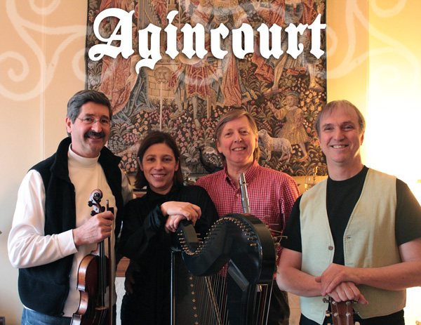 Agincourt: Michel Bordeleau, Alan Jones, Joanne St-Laurent et Ralph Thompson